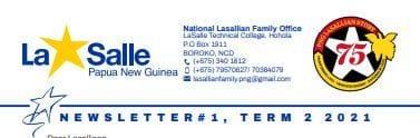 PNG Lasallian Family - Term 2 Newsletter 2021