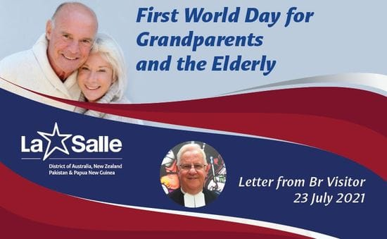 Br Visitor's Message to Brothers on the First World Day for Grandparents and the Elderly