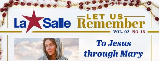Resource: Let Us Remember - To Jesus through Mary