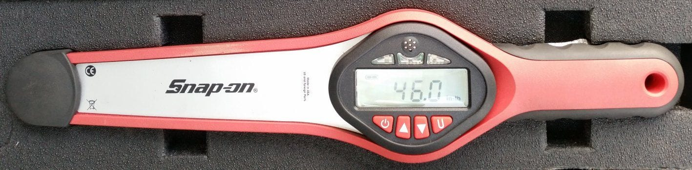 Digital Torque Wrench - Checking Preload