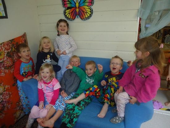 Pyjama Day at Harty Street