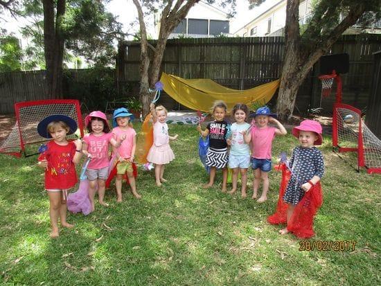Fairy fun in the playground