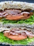 BLT Sandwich - Full (Bacon, Lettuce, Tomato, in-house Mayo)