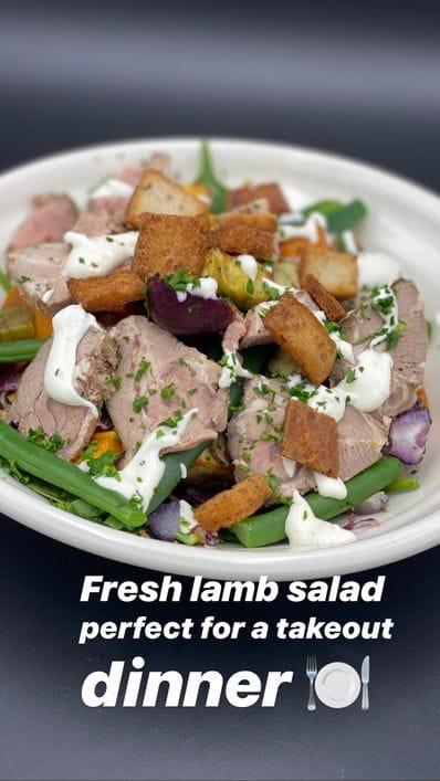 Lamb & Feta Salad