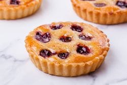 ALMOND AND CHERRY TART