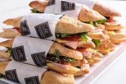 MIX OF 15 BAGUETTE SANDWICHES