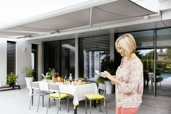 Smart Phone technology is now available for your blinds
