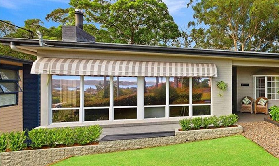 Stripped Dutch Hood Canopy Awnings | Premier Shades Central Coast