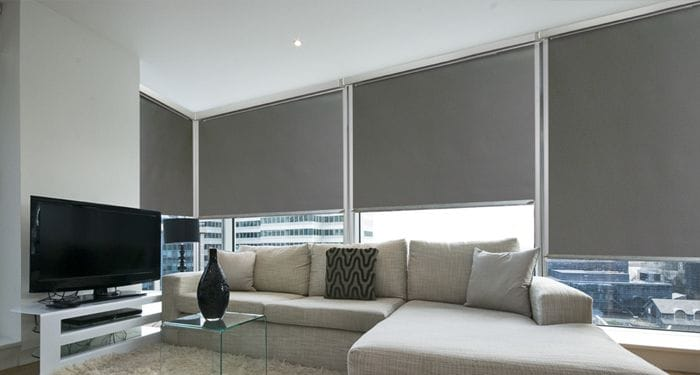Ziptrak Internal Blockout Blinds creates an air pocket between the glass and blind which significantly enhances insulation