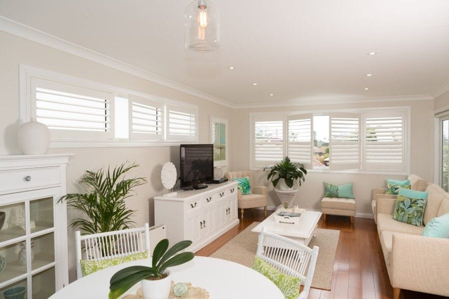 Quality PVC Shutters supplied by Premier Shades