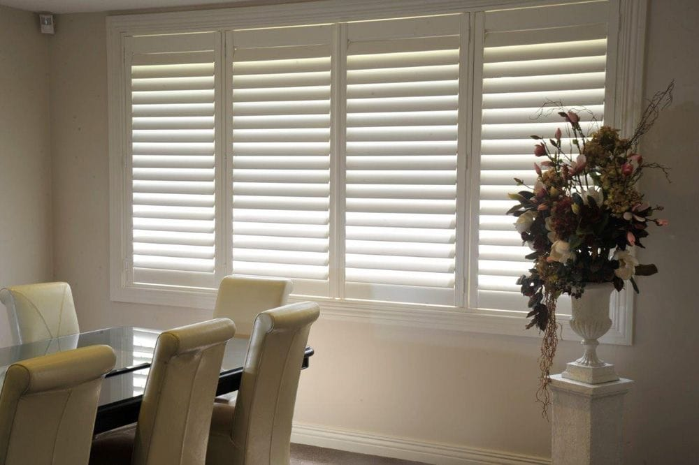 Bi-fold PVC Thermopoly Shutters | Premier Shades Central Coast