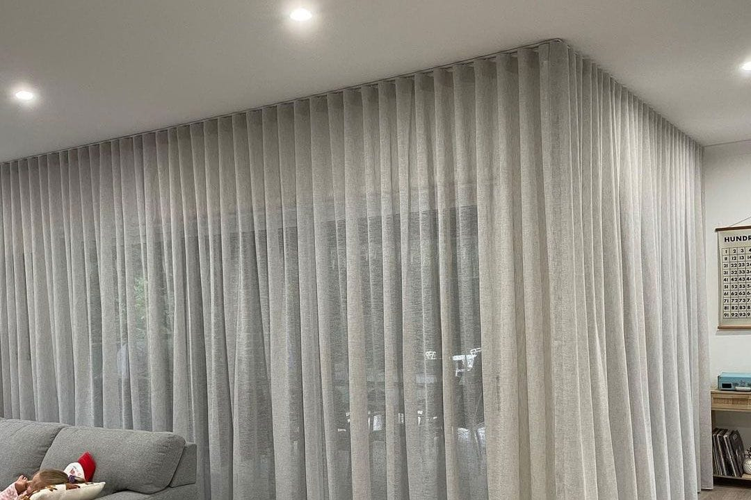 Ceiling Fit Curtains Central Coast Premier Shades