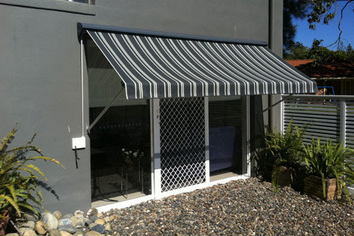 Premier Shades sells Pivot Arm Awnings on the Central Coast
