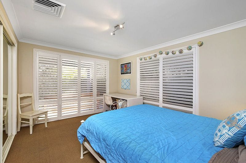 Plantation Wood Shutters can be customised in shape, colour, finish, blade style, frame, opening type and hinge
