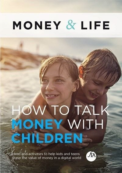 """Financial Planning Week 2018 """"How to talk money with kids"""" eBook"""