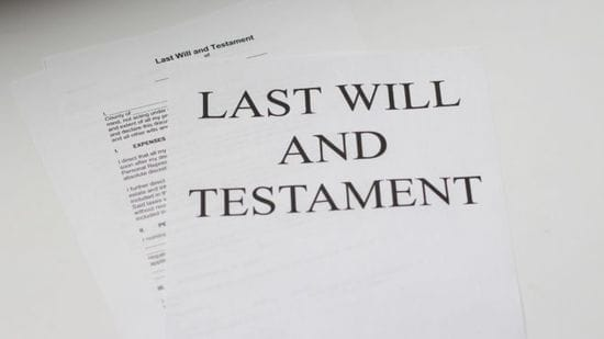 Write or update your will