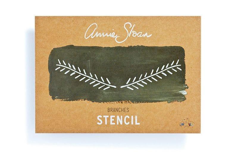 Thumbnail A4 Branches Stencil