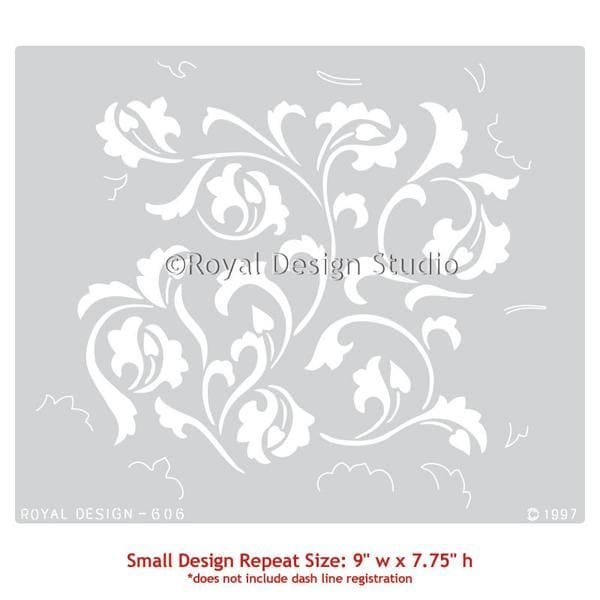 Thumbnail Scrollallover Furniture Stencil