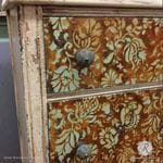 Allover Brocade Furniture Stencil