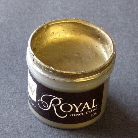 Thumbnail Antique Gold Stencil Creme