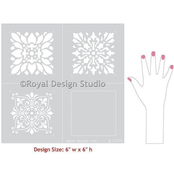 Thumbnail RenaissanceTile Stencil Set