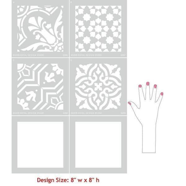 Thumbnail Spanish Tile Set