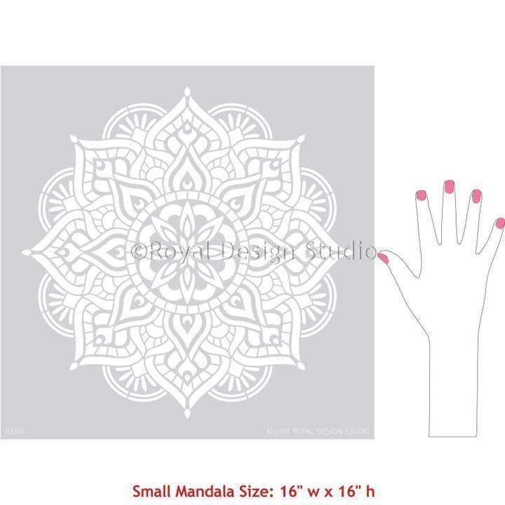 Thumbnail Prajna Medallion Stencil