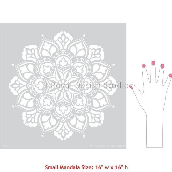 Thumbnail Ananda Medallion Stencil