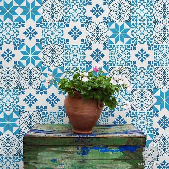 Thumbnail Mediterranean Tile Set