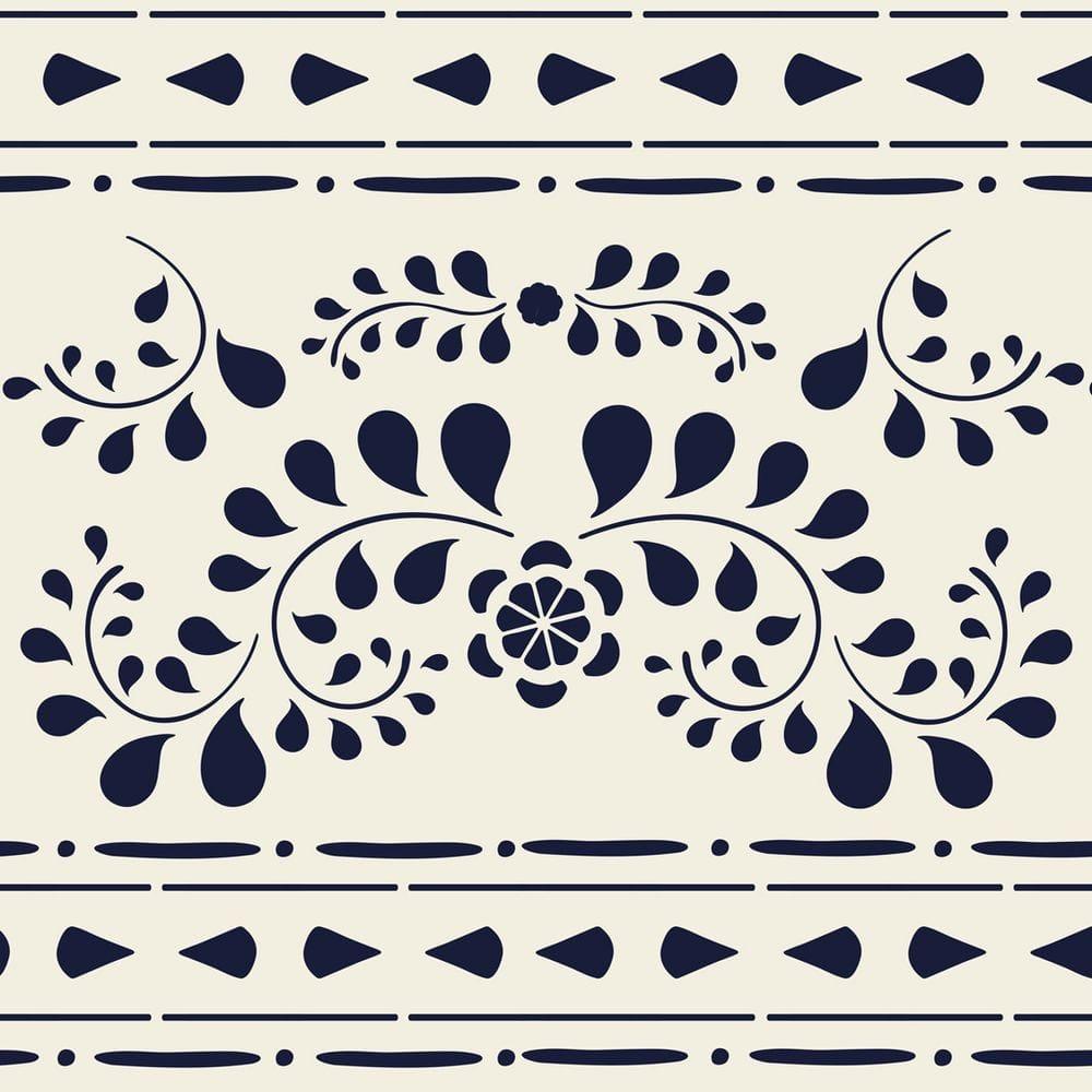 Thumbnail Faux Bone Stencil