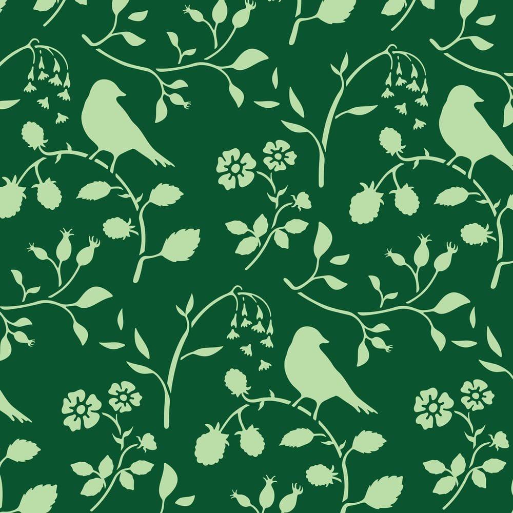 Thumbnail Country Birds Stencil