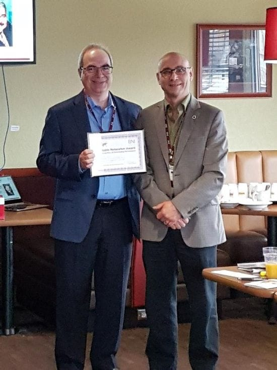 Notable Networker Award - April