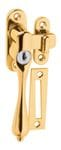 Casement Fastener - Key Operated Left Hand PVD