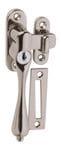 Casement Fastener - Key Operated Left Hand Satin Chrome