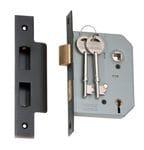 5 Lever Mortice Lock Antique Copper 57mm