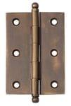 Hinge - Loose Pin Antique Brass 85mm x 60mm