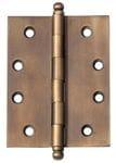 Hinge - Loose Pin Antique Brass 100mm x 75mm