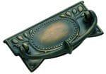 Cabinet Handle Medium Antique Brass