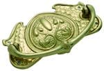 Cabinet Handle Large Polished Brass