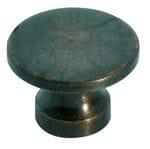 Cupboard Knob Antique Brass 16mm