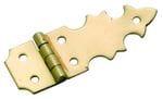 Box Hinge (Pair) Polished Brass