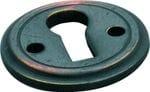 Escutcheon Round Antique Copper