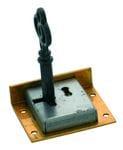 Drawer / Till Lock Brass 38mm x 32mm