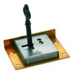 Drawer / Till Lock Brass 63mm x 48mm