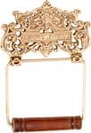 Albany Toilet Roll Holder Polished Brass