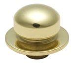 Dimmer Knob Polished Brass