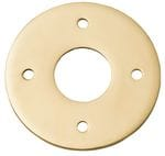 Adaptor Plate - Suits 54mm Hole (Sold As A Pair) Polished Brass