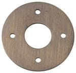 Adaptor Plate - Suits 54mm Hole (Sold As A Pair) Antique Brass