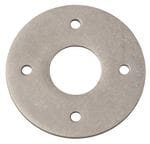 Adaptor Plate - Suits 54mm Hole (Sold As A Pair) Rumbled Nickel