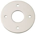 Adaptor Plate - Suits 54mm Hole (Sold As A Pair) Satin Nickel